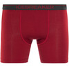 Icebreaker Anatomica Ondergoed onderlijf Heren rood